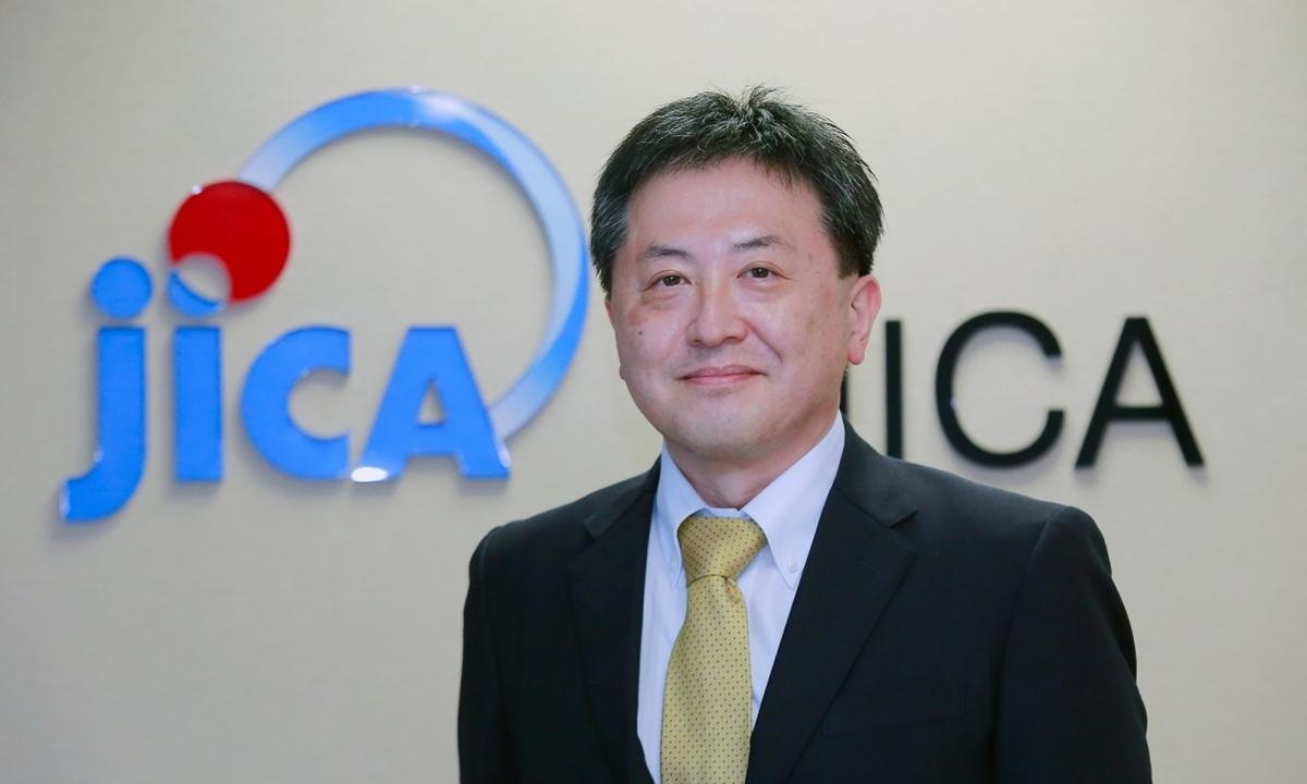 Ông Shimizu Akira, Trưởng đại diện Văn phòng Cơ quan Hợp tác quốc tế Nhật Bản (JICA) tại Việt Nam. Ảnh JICA