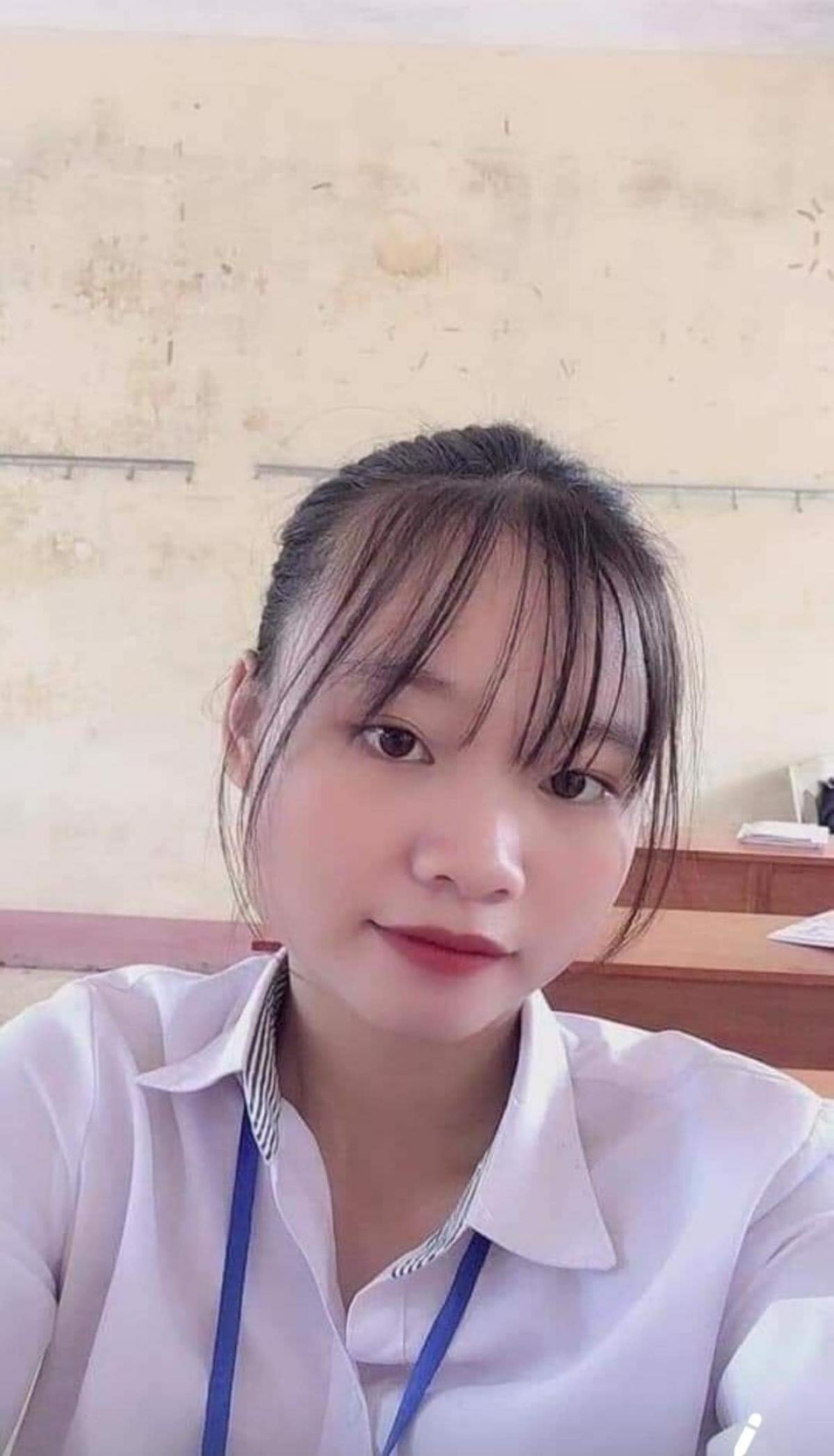 """Nữ sinh Nguyễn Huyền Trang đã """"mất tích"""" nhiều ngày qua."""