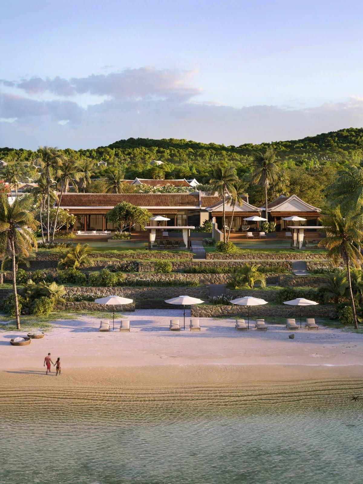 Các dinh thự Park Hyatt Phu Quoc Residences có diện tích từ 1.500 – 2.500m2.