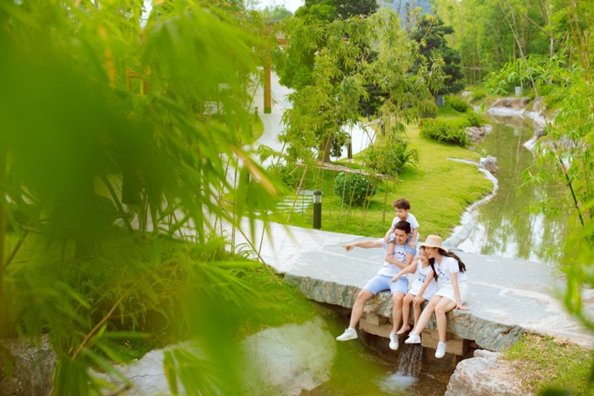 Hòa mình vào thiên nhiên xanh, tận hưởng cuộc sống an lành, hạnh phúc tại Vinhomes Smart City