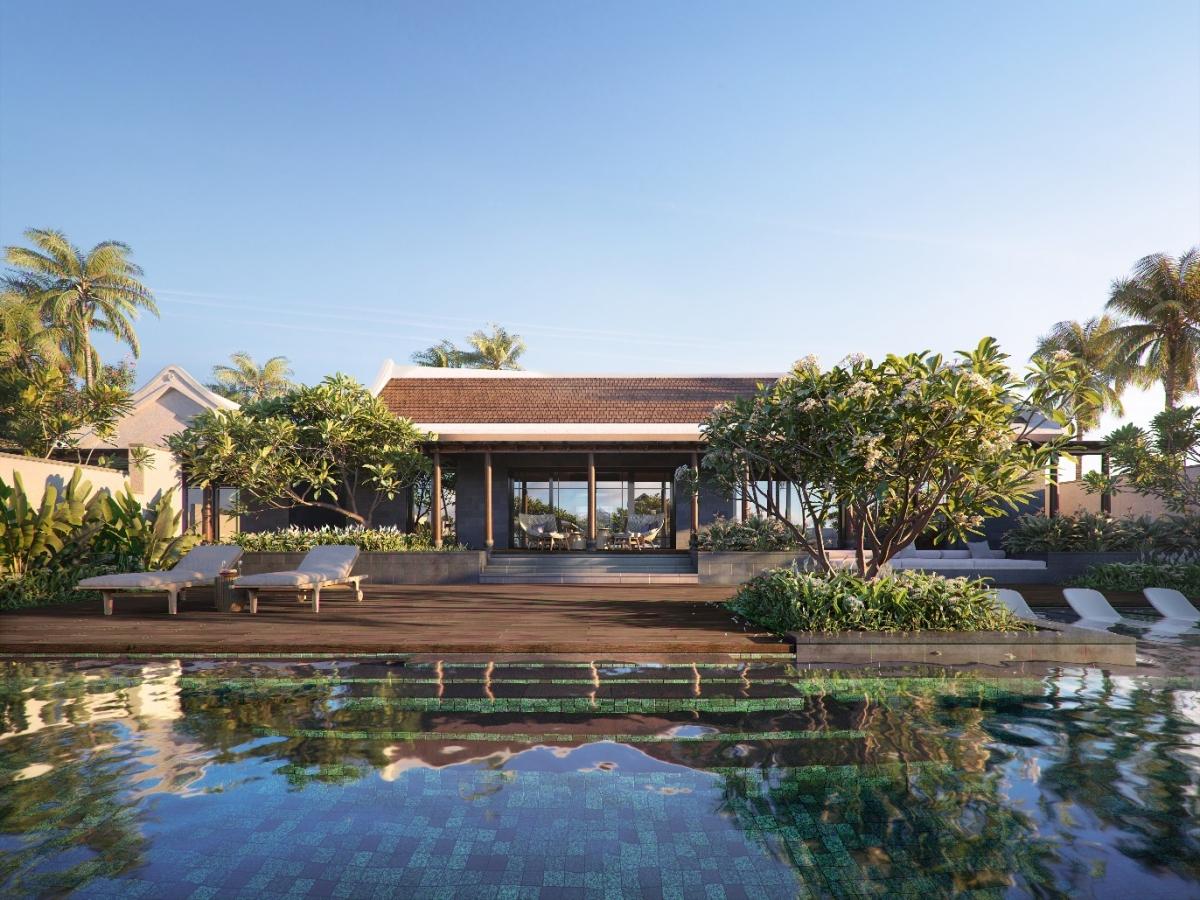 Dinh thự Park Hyatt Phu Quoc Residences mang âm hưởng văn hóa bản địa trong thiết kế.