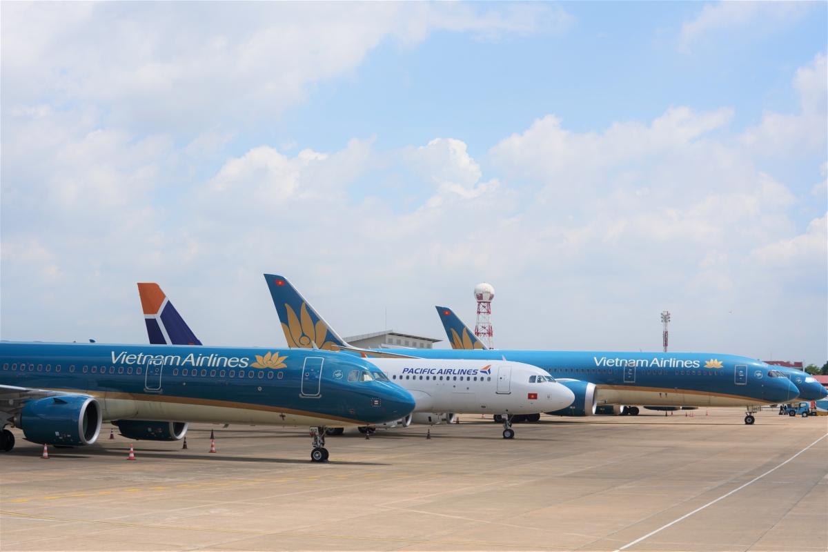 Hệ số sử dụng ghế bay của Vietnam Airlines chỉ mới lấp đầy 86%.