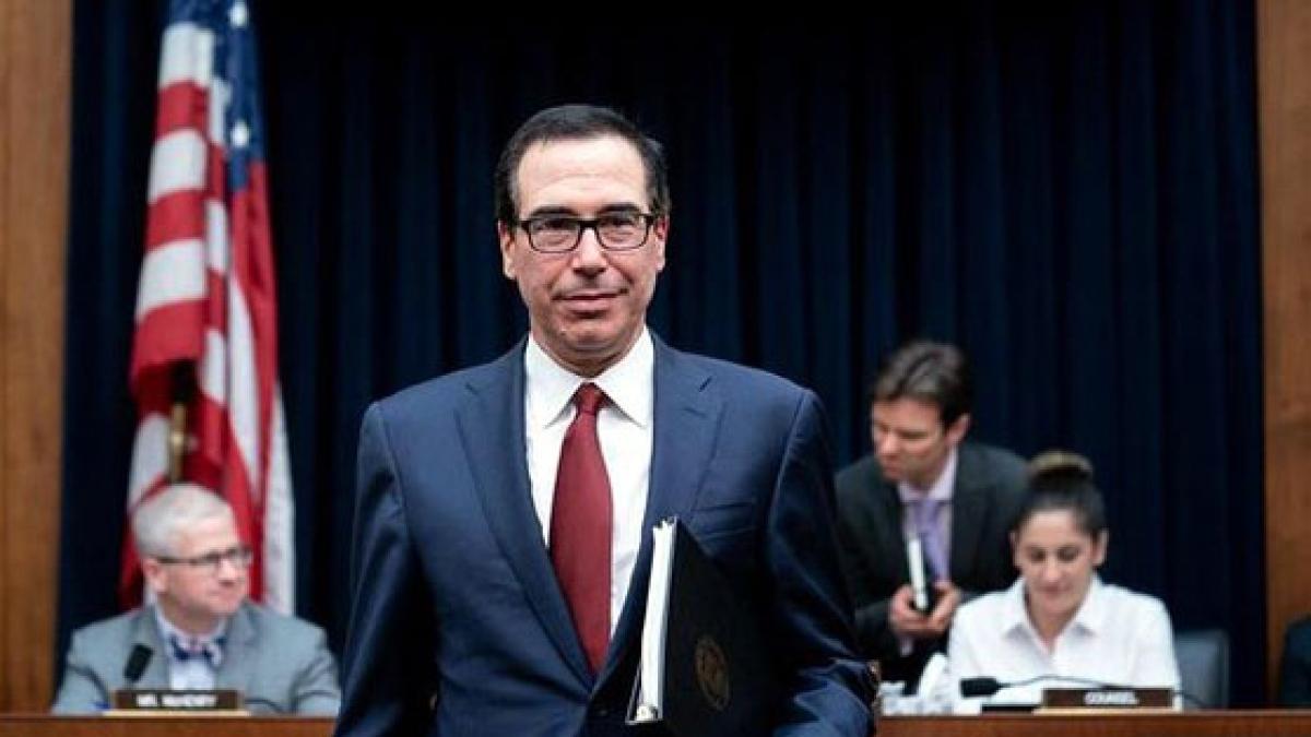 Bộ trưởng Tài chính Mỹ Steven Mnuchin. (Ảnh: The New York Times)