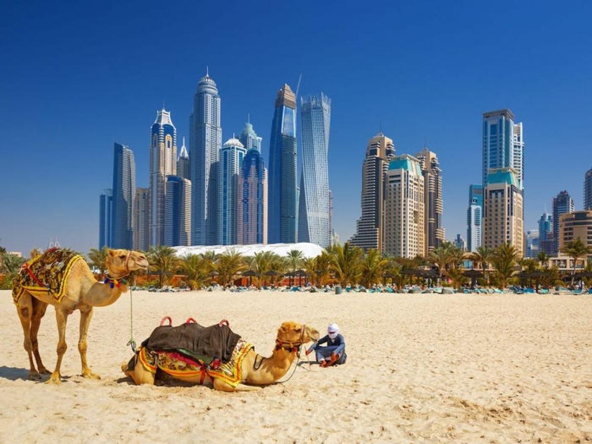 Dubai cho phép người nước ngoài đến làm việc tối đa 1 năm và không thu thuế thu nhập. Nguồn: Shutterstock