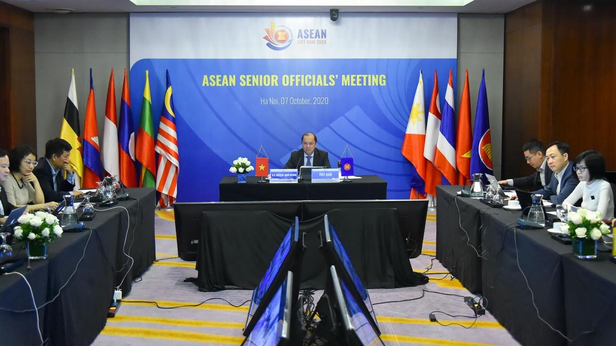 Hội nghị trực tuyến Quan chức Cao cấp (SOM) ASEAN.