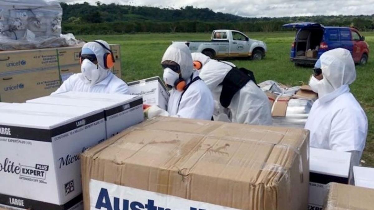 Australia cam kết viện trợ bổ sung 500 triệu AUD hỗ trợ các nước Đông Nam Á và khu vực ngăn chặn Covid-19. Ảnh Bộ Ngoại giao Australia
