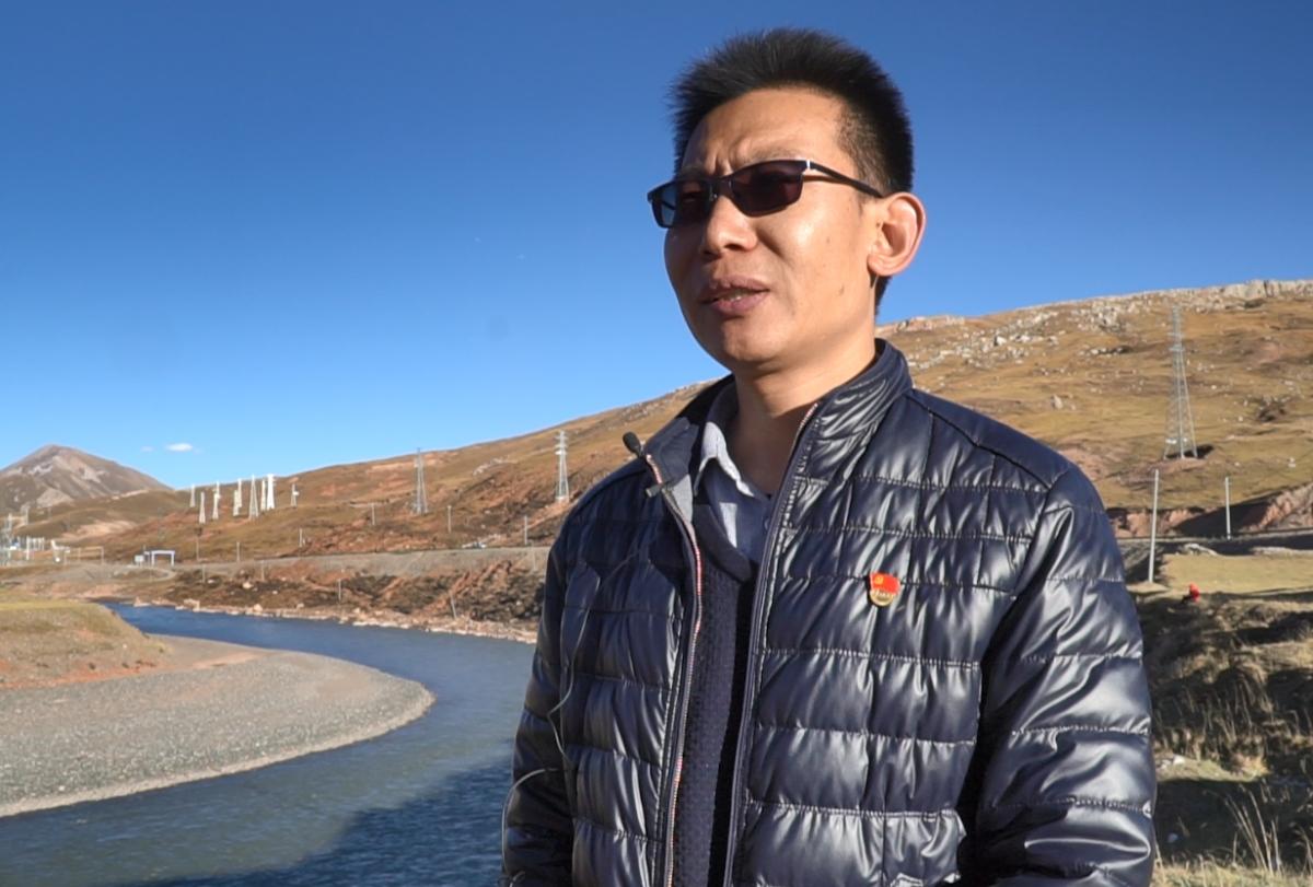 Ông Lý Chấn Bân, Phó Chủ nhiệm Văn phòng Huyện ủy Tạp Đa