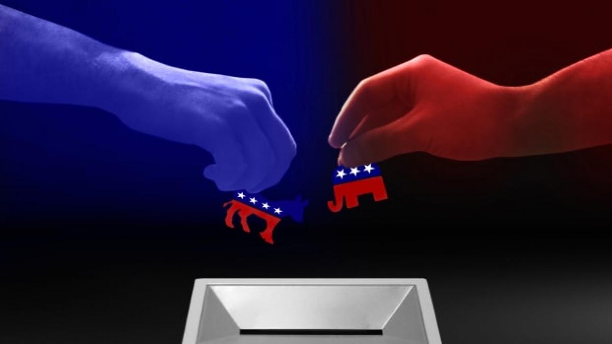 Các bang dao động đóng vai trò quan trọng trong các cuộc bầu cử Mỹ. Ảnh: Getty