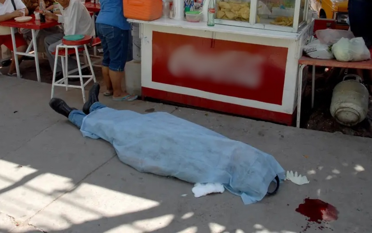 Nạn nhân của 1 vụ bạo lực ở Mexico. Ảnh: Business Insider.