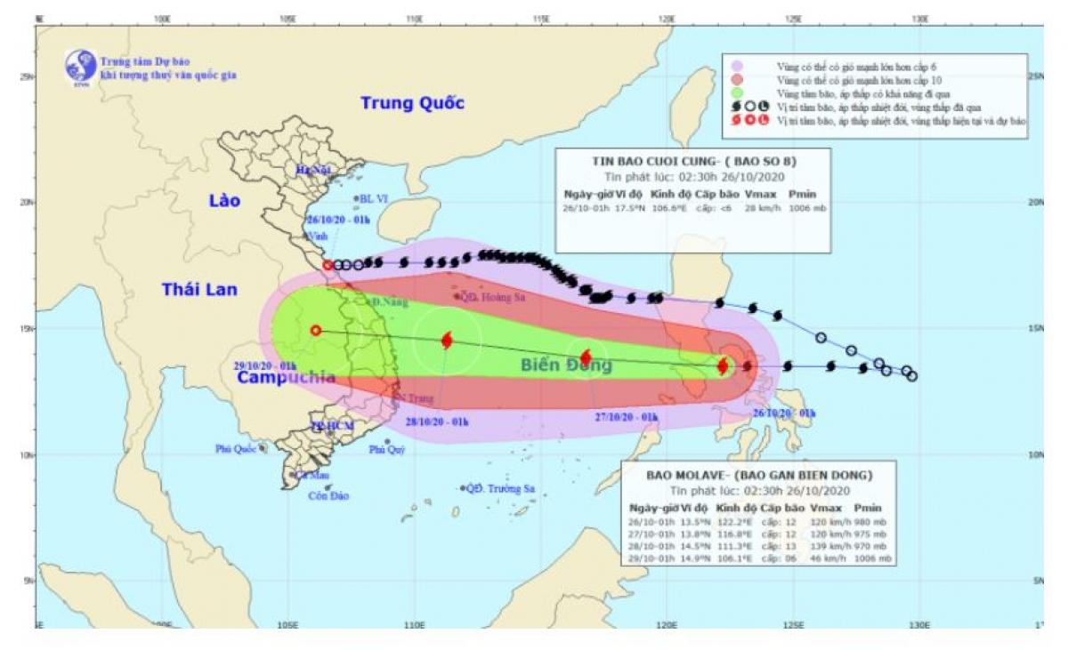Sức gió mạnh nhất vùng gần tâm bão mạnh cấp 11-12 (100-135km/giờ), giật cấp 14.