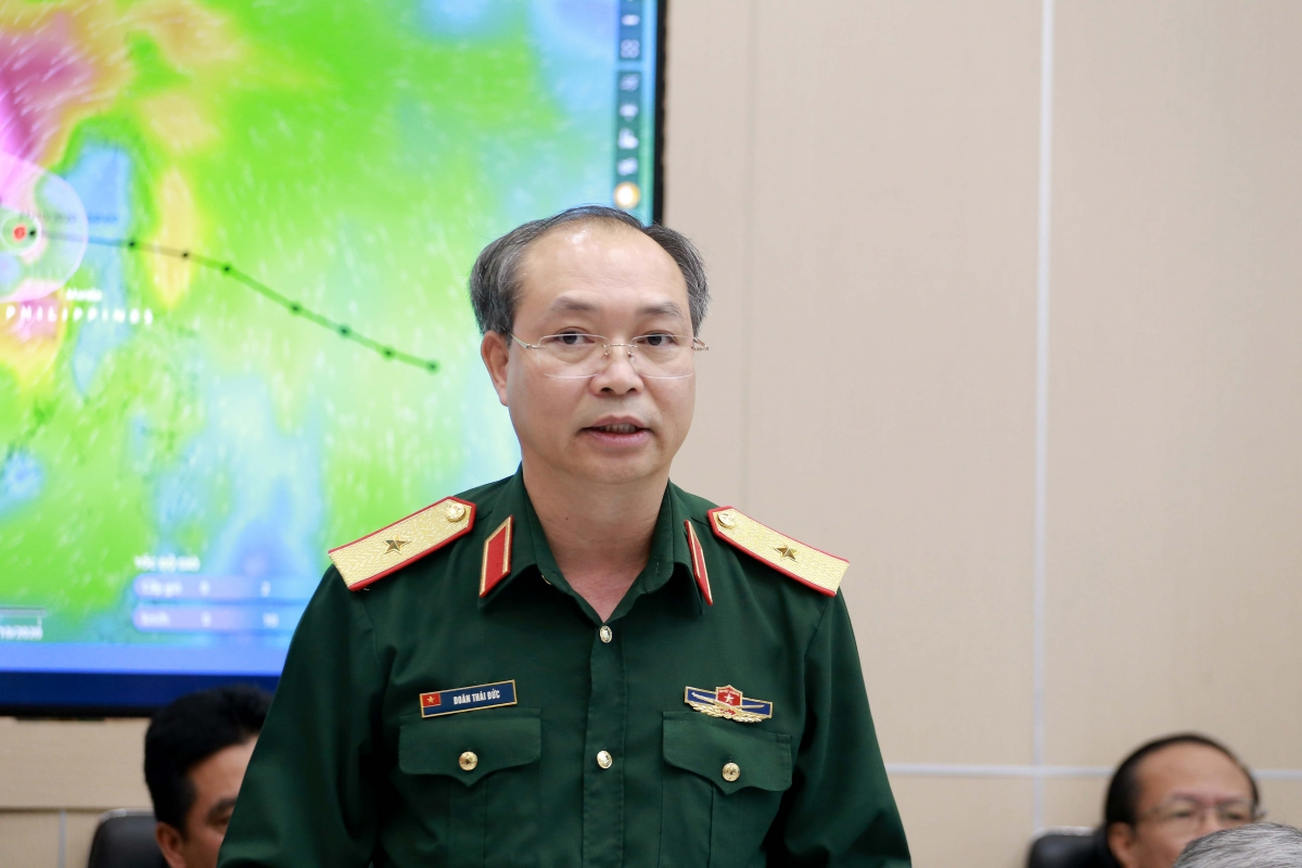Thiếu tướng Doãn Thái Đức – Chánh Văn phòng UBQG Ứng phó sự cố thiên tai và Tìm kiếm cứu nạn