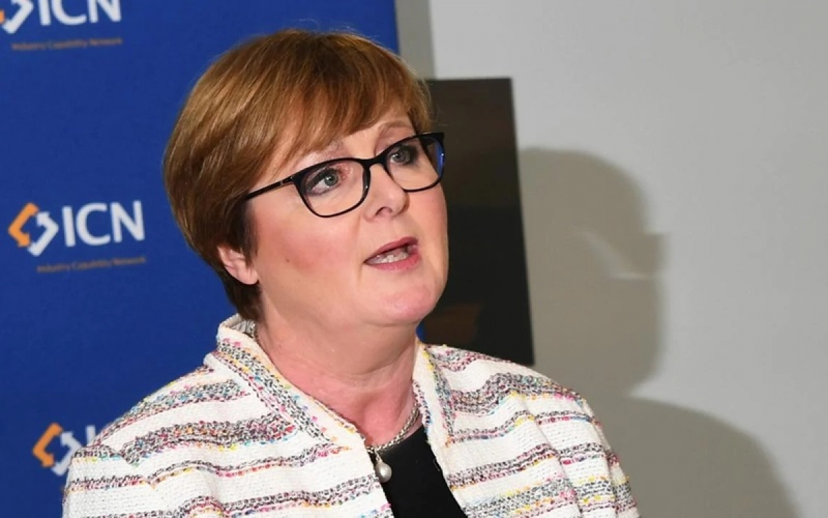 Bộ trưởng Quốc phòng Australia Linda Reynolds xác nhận Hải quân nước này sẽ tham gia Tập trận hải quân Malabar. Ảnh: Katrina Bridgeford.