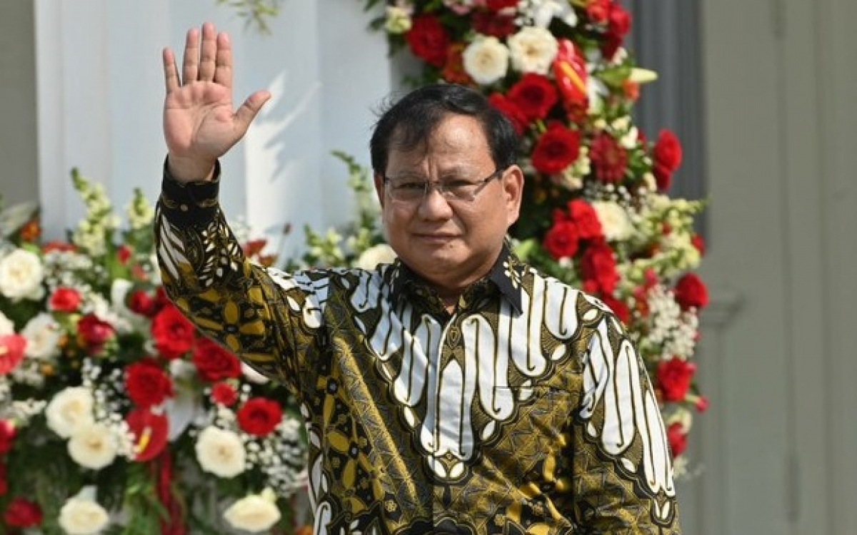 Bộ trưởng Quốc phòng Indonesia, Prabowo Subianto. Ảnh : AFP.