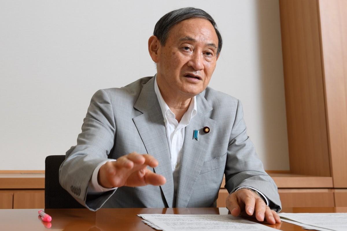Thủ tướng Nhật Bản Suga Yoshihide. Ảnh: SCMP.
