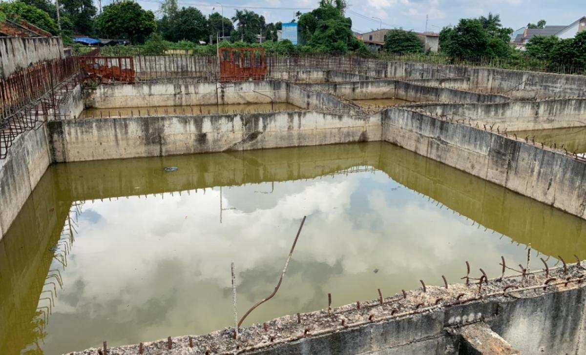 Khu xử lý nước thải được đầu tư hàng chục tỷ đồng