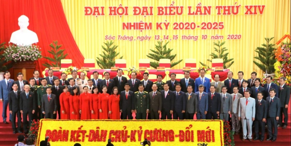 Bế mạc Đại hội đại biểu Đảng bộ tỉnh Sóc Trăng.