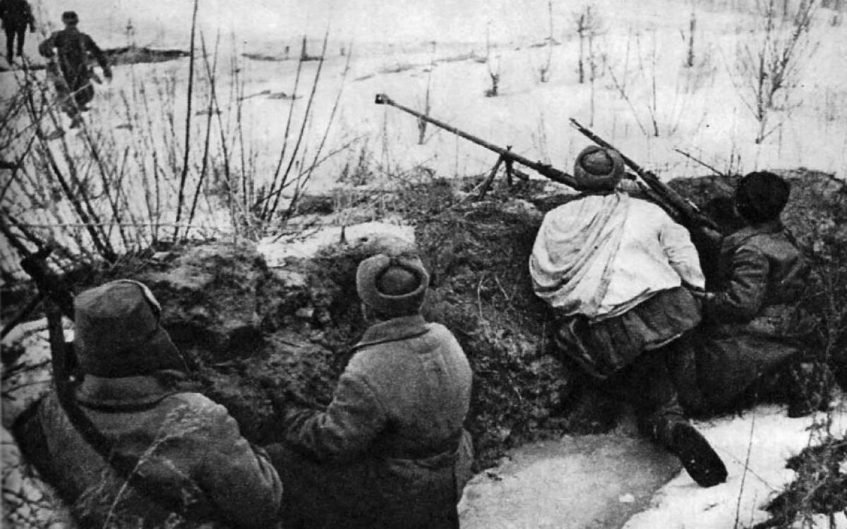 Chiến sĩ Hồng quân trong Thế chiến 2. Ảnh: Warontherocks.