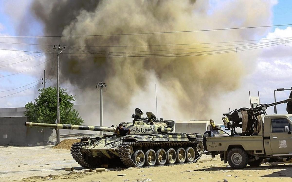 Chiến sự tại Libya. Ảnh: NYT.