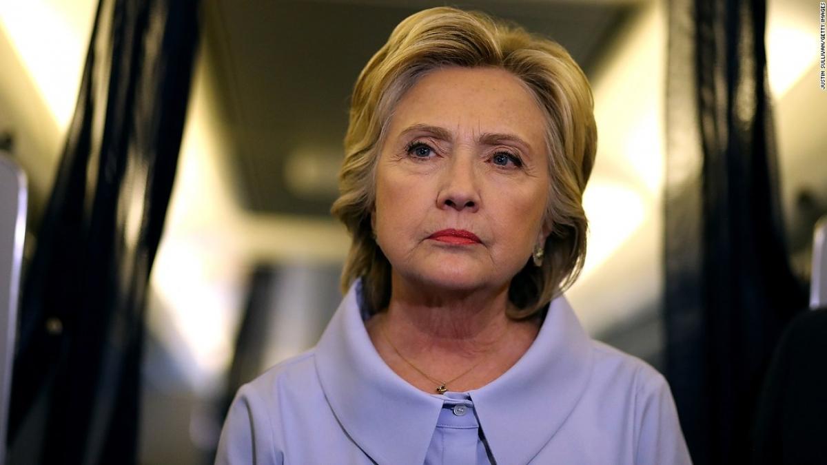 Bà Hillary Clinton. Ảnh: CNN