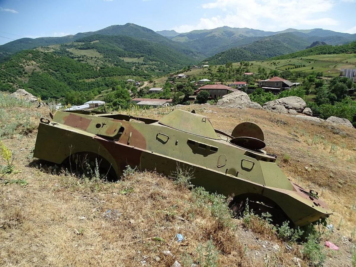 Xung đột Nagorno-Karabakh đang diễn ra có cội người sâu xa; Nguồn: wikipedia.org