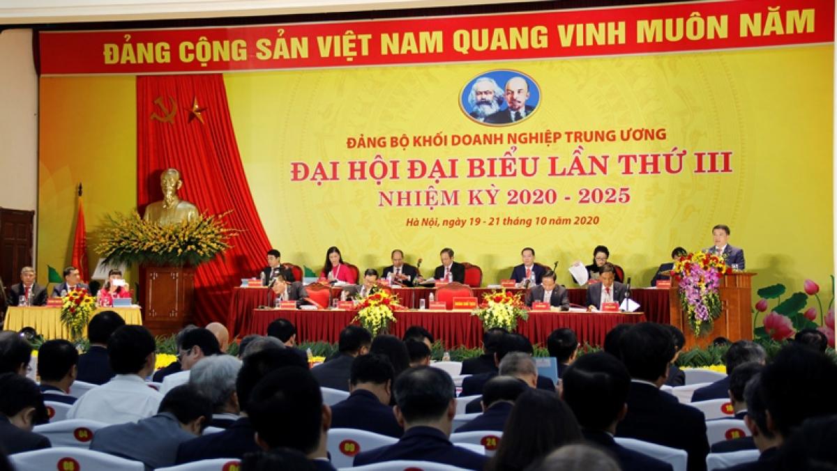 Đại hội Đảng bộ khối doanh nghiệp Trung ương