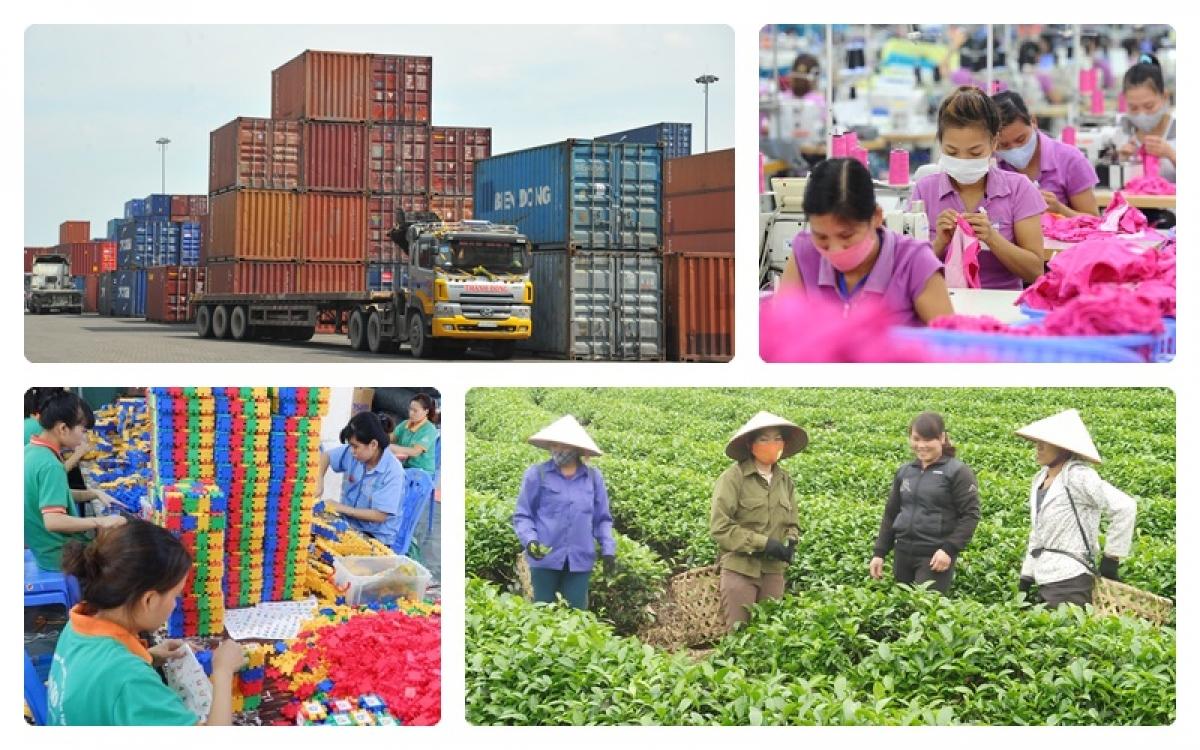 Nền kinh tế Việt Nam được IMF đánh giá là lớn thứ 4 của khối ASEAN trong năm nay. (Ảnh minh họa)