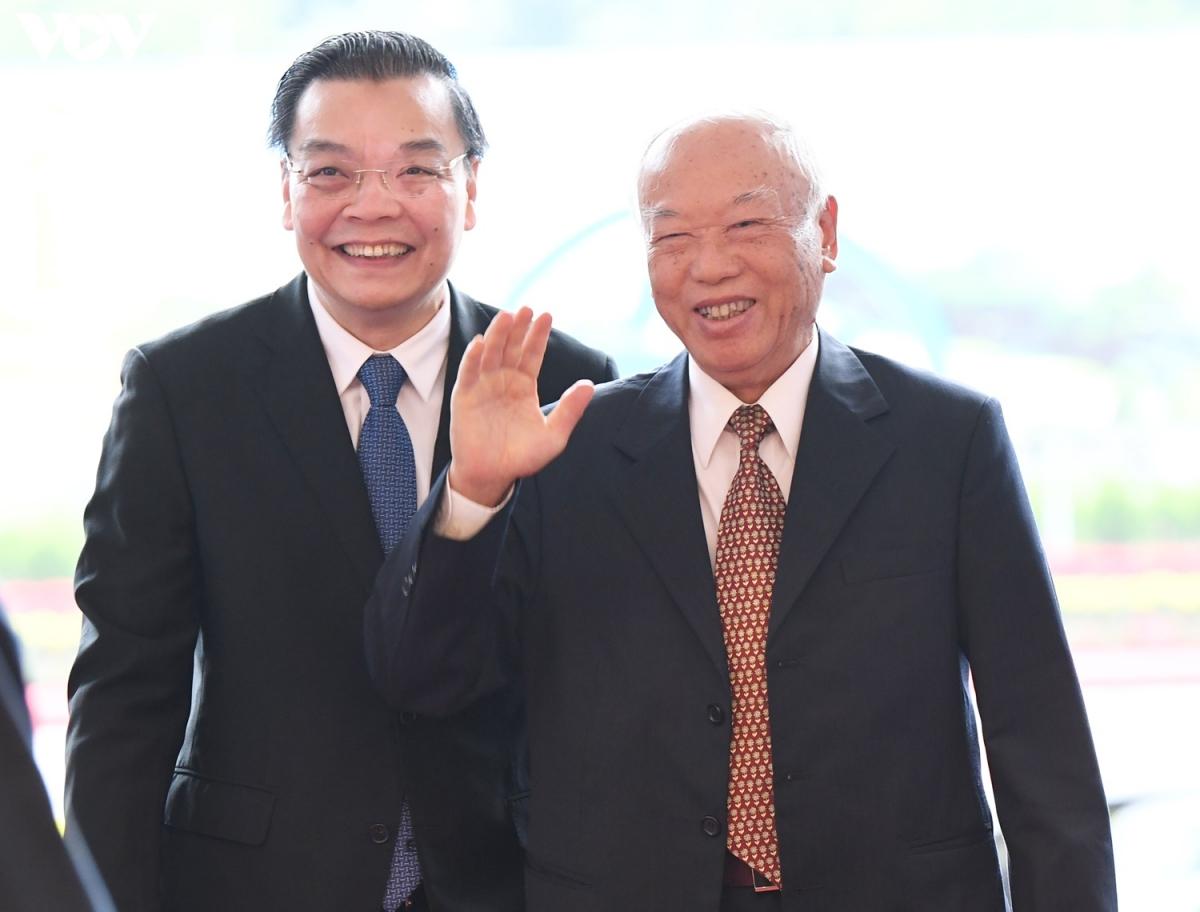 Nguyên Chủ tịch Quốc hội Nguyễn Văn An