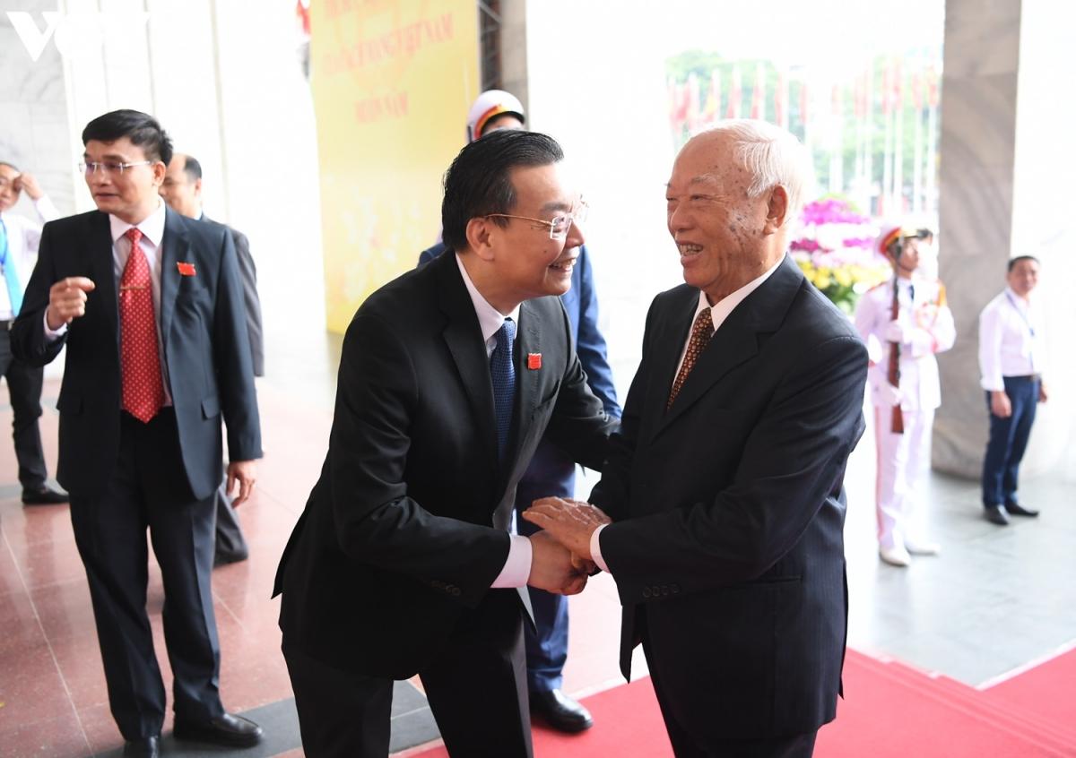 Nguyên Chủ tịch Quốc hội Nguyễn Văn An.