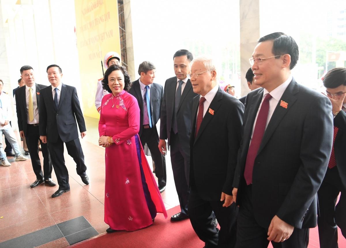 Từng giữ vị trí Bí thư Thành ủy Hà Nội, Tổng Bí thư, Chủ tịch nước Nguyễn Phú Trọng là người rất tâm huyết với sự phát triển của Thủ đô. (Ảnh: Trọng Phú)