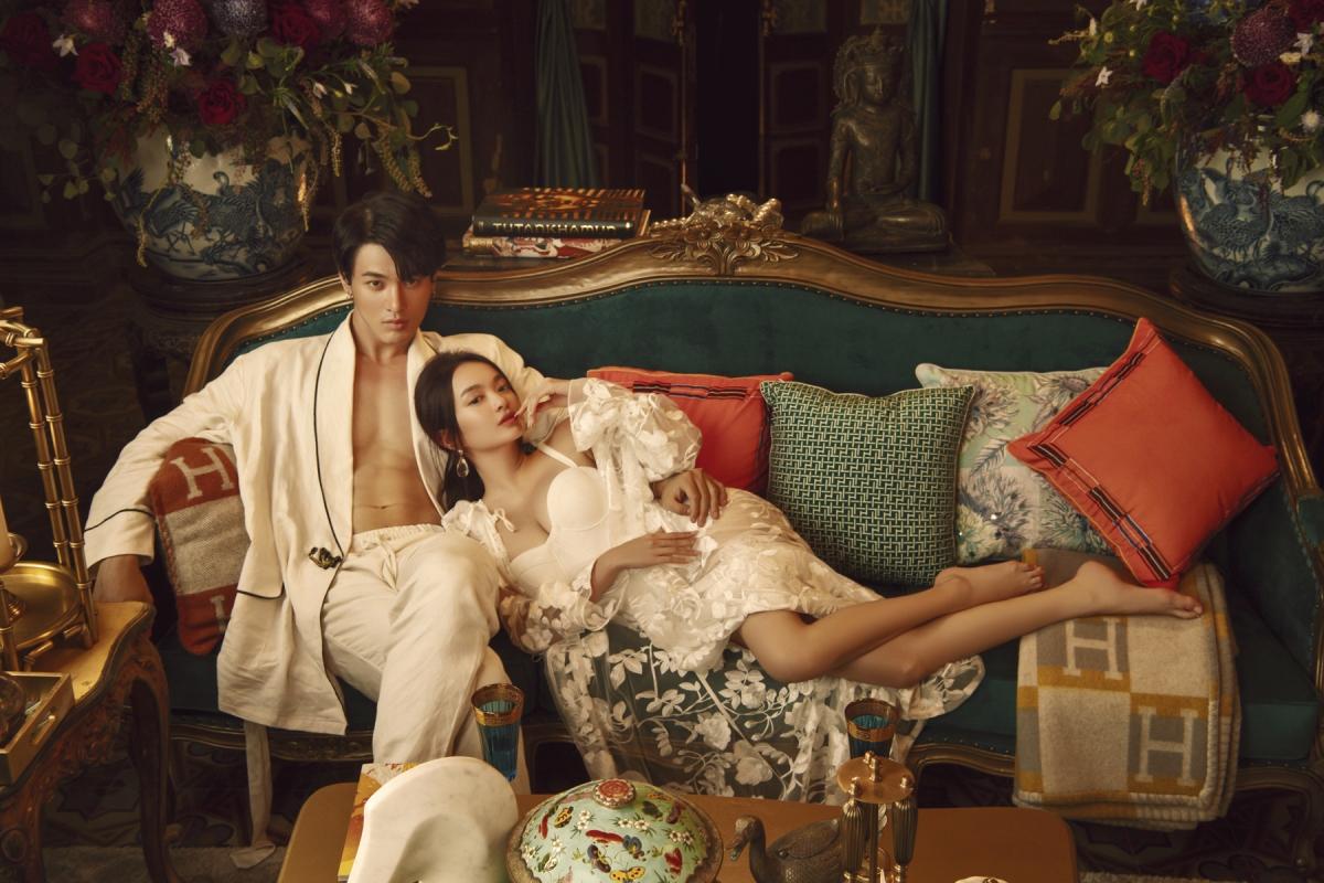 Trong vai Lý Linh, người em út xinh đẹp của Lý Gia, Kaity Nguyễn đã thật sự có bước tiến dài trong hành trình lột xác, để thoát ly khỏi hình ảnh trẻ con ở các dự án trước đây.