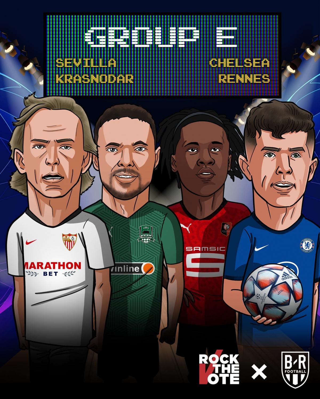 21/10 02:00 Chelsea - Sevilla 21/10 02:00 Rennes - FC Krasnodar