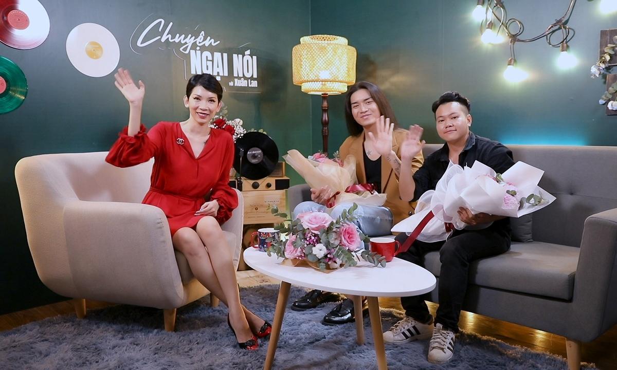 Xuân Lan cùng 2 khách mời: BB Trần và Lê Hiếu