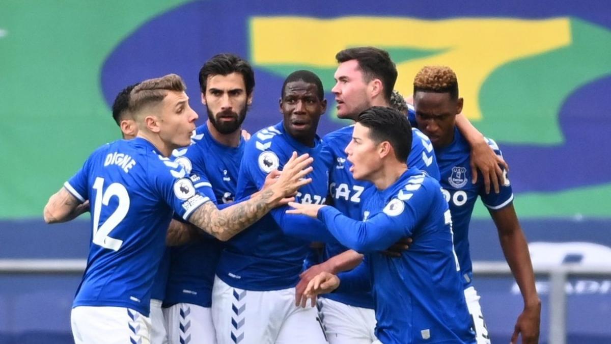 Everton đưa trận đấu về vạch xuất phát. (Ảnh: Getty)