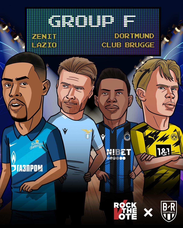 20/10 23:55 Zenit - Club Brugge 21/10 02:00 Lazio - Dortmund