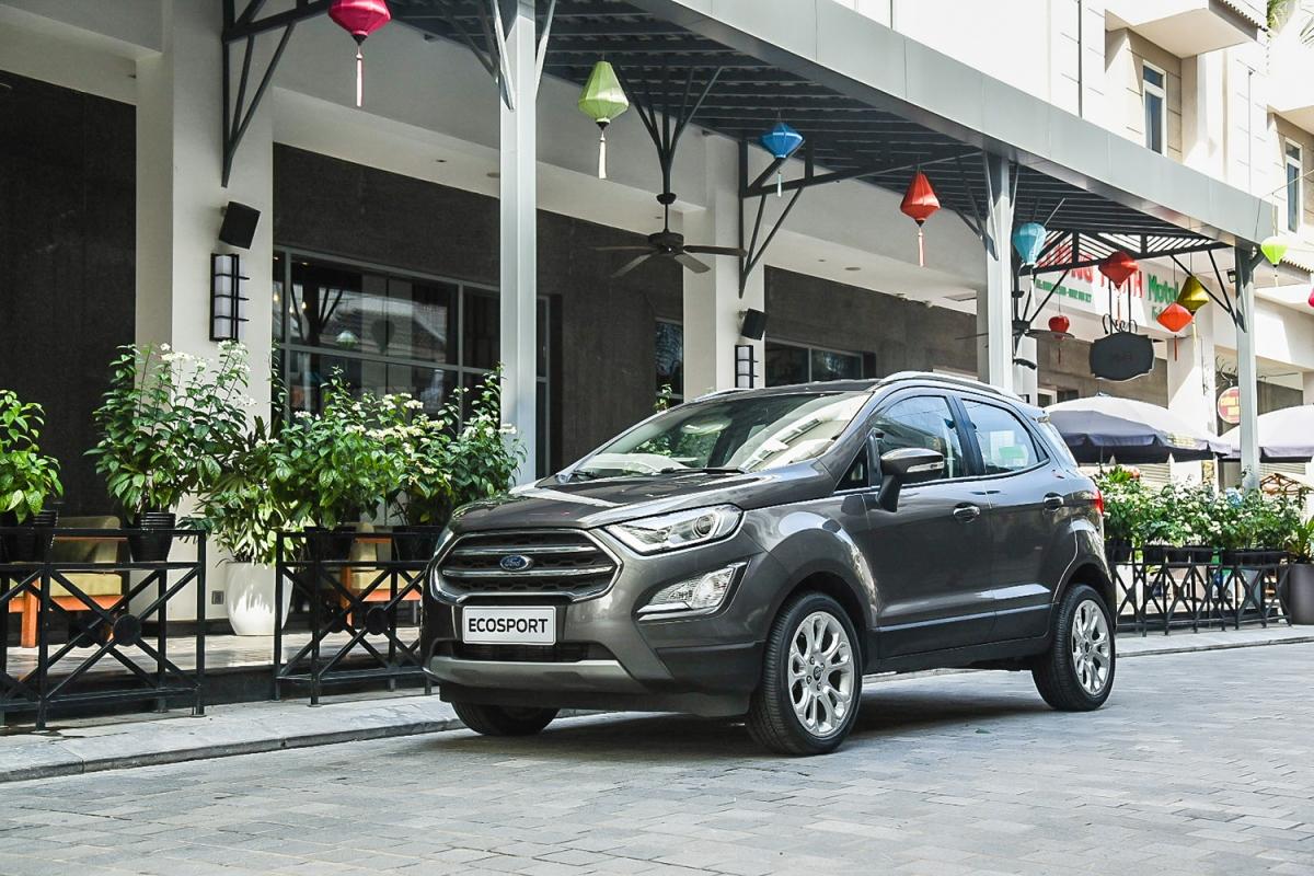 Ngoại hình của Ford EcoSport 2020 không có quá nhiều thay đổi so với thế hệ trước.