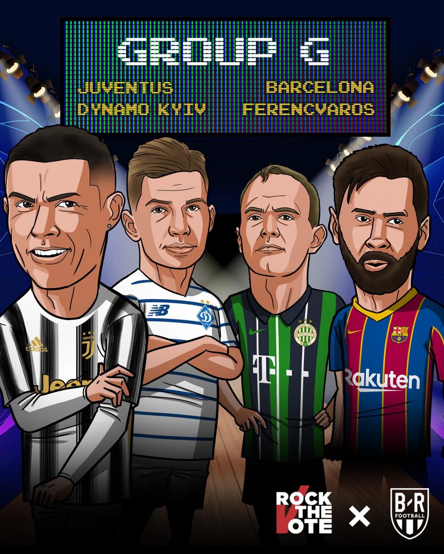 20/10 23:55 Dinamo Kyiv - Juventus 21/10 02:00 Barca - Ferencvaros