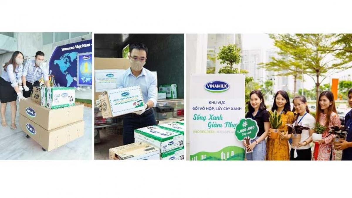 Vinamilk luôn khuyến khích nhân viên tham gia các hoạt động vì cộng đồng của Công ty như Quỹ sữa Vươn cao Việt Nam, Quỹ 1 triệu cây xanh.
