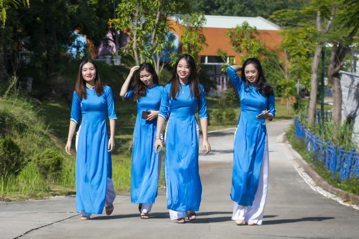 Ao Dai week makes up one part of a wider tourism promotion campaign that has been launched by the administration of Quang Ninh.