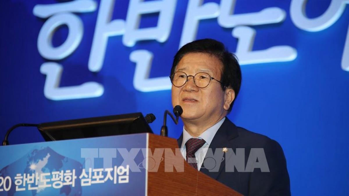 Chủ tịch Quốc hội Park Byeong-Seug. (ảnh: Yonhap/TTXVN)
