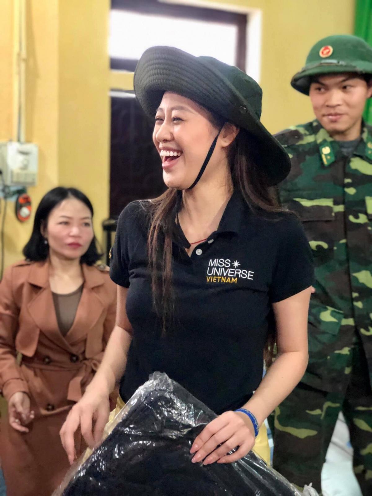 Đây là một trong những hoạt động quan trọng được tổ chức Hoa hậu Hoàn vũ Việt Nam chú trọng suốt nhiều năm qua.