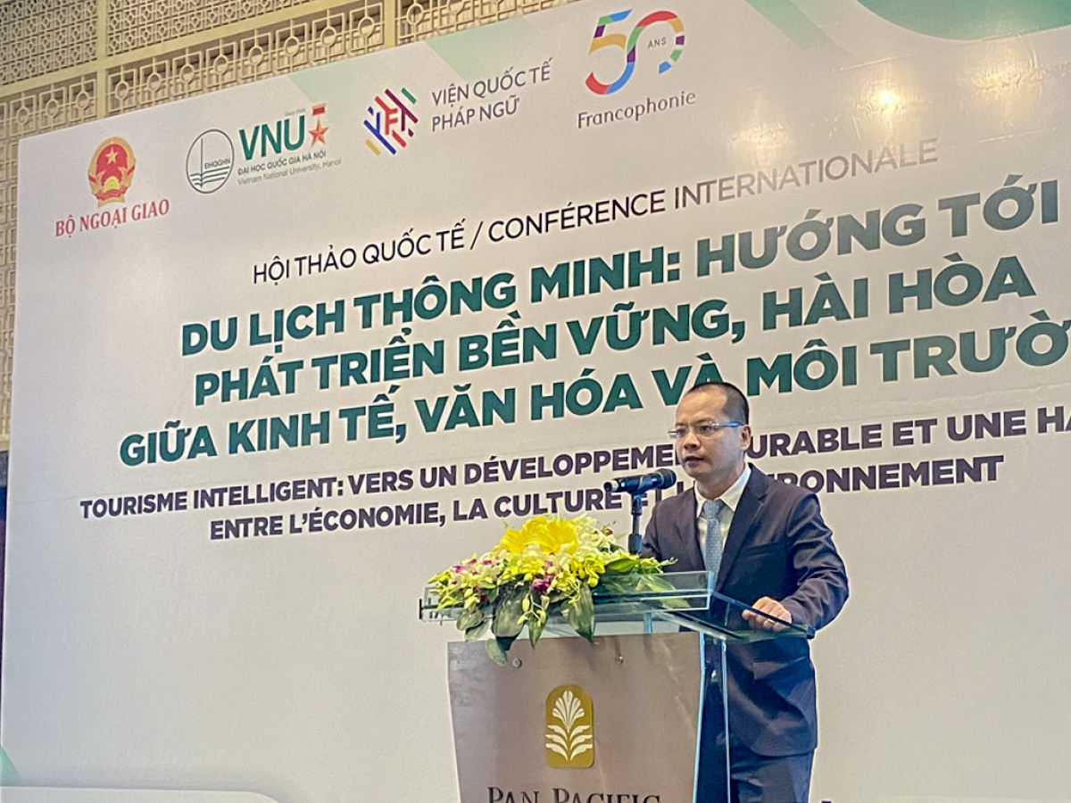 Ông Lê Tuấn Anh, Giám đốc Trung tâm Thông tin du lịch (Tổng cục Du lịch). Nguồn: TITC