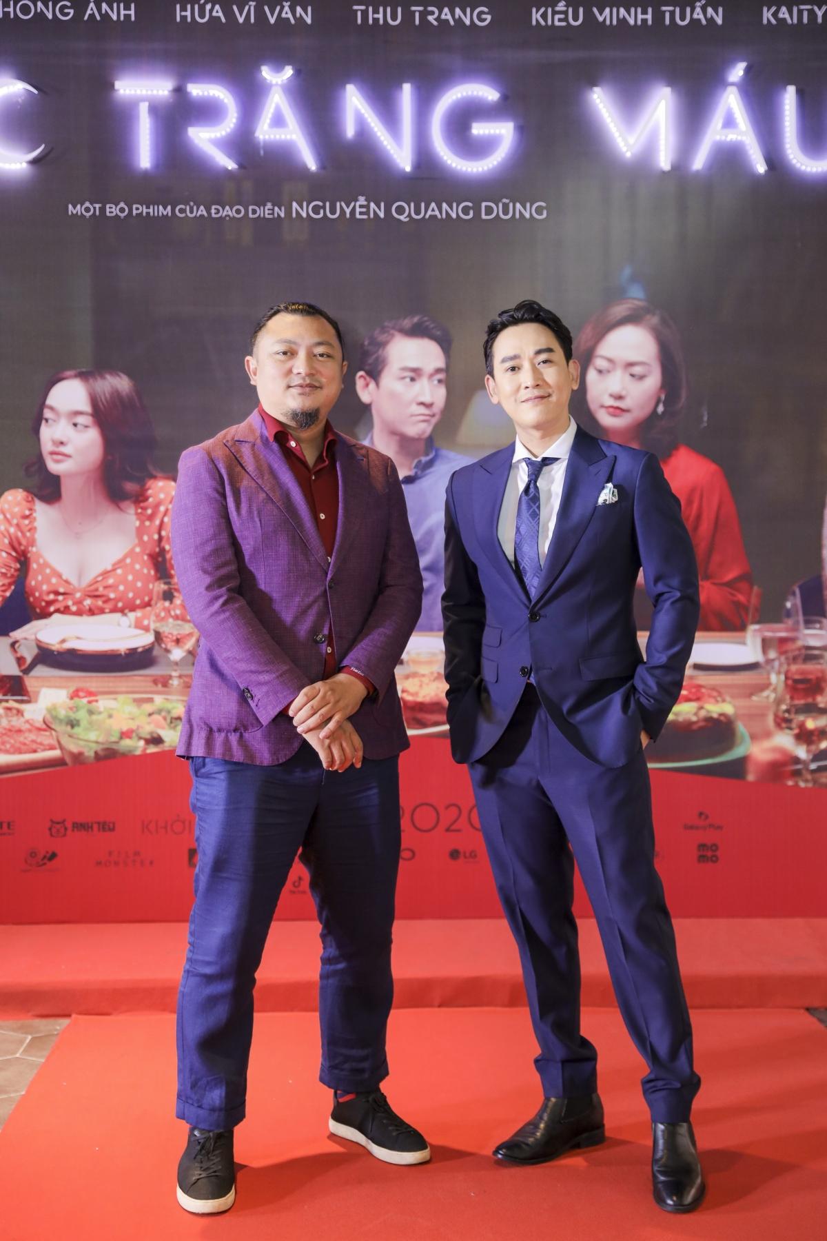 """Nhà sản xuất Phan Gia Nhật Linh và """"soái ca"""" Hứa Vĩ Văn là đôi bạn thân thiết từ hơn 10 năm nay."""
