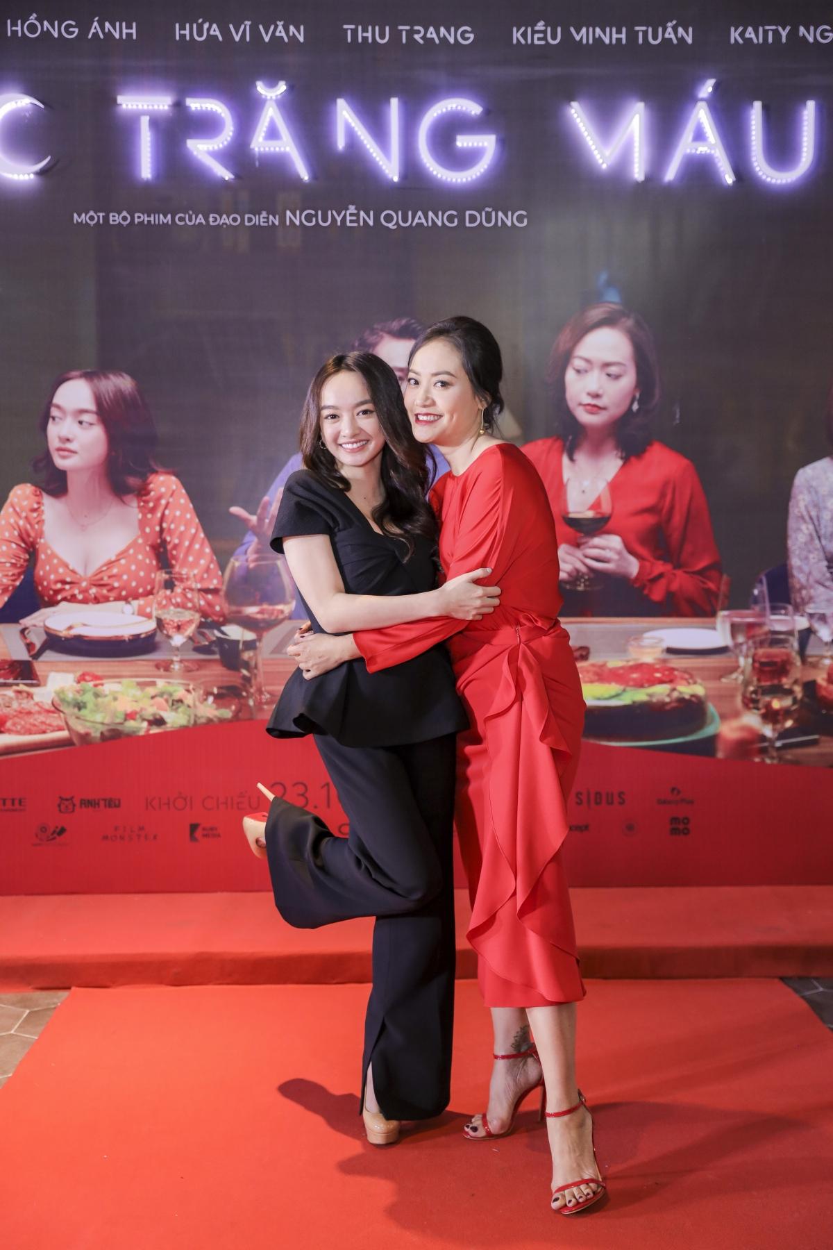 Hồng Ánh và Kaity Nguyễn là hai mỹ nhân thuộc hai thế hệ của điện ảnh Việt.