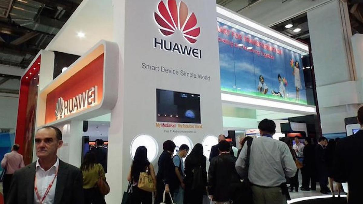 Nhiều công ty Nhật Bản yêu cầu Mỹ chấp thuận để bán linh kiện cho Huawei. (Ảnh: KT)