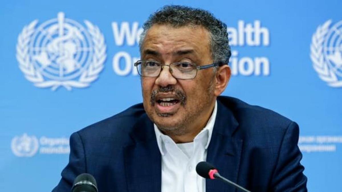 Tổng giám đốc Tổ chức Y tế thế giới Tedros Adhanom Ghebreyesus. Ảnh: Getty.
