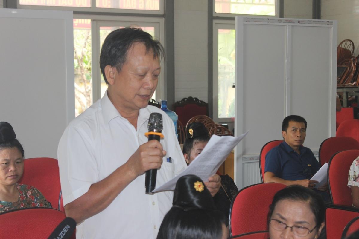 Ông Nguyễn Hùng Tuyền, 72 tuổi được đảng viên tín nhiệm bầu làm Bí thư chi bộ tổ 14, phường Quyết Thắng, thành phố Sơn La 3 khóa liên tiếp.
