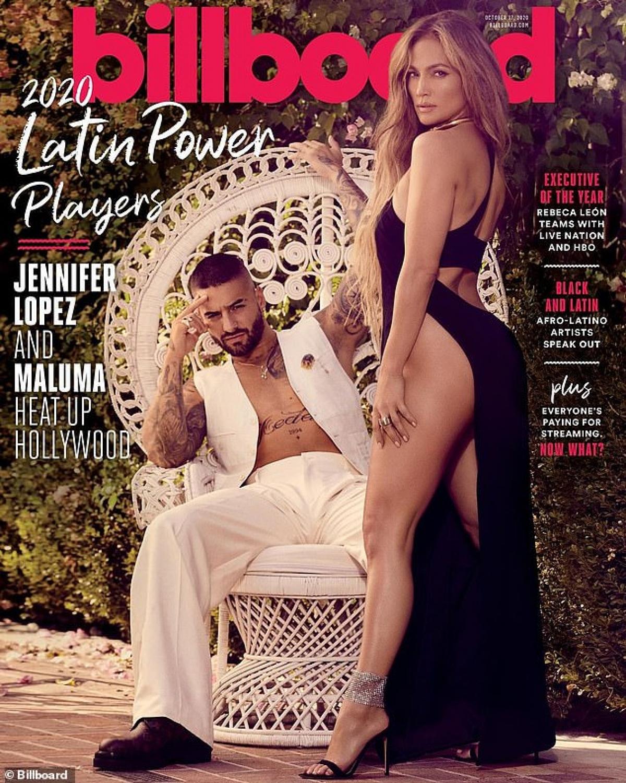 Cô vừa xuất hiện nóng bỏng trên trang bìa Billboard cùng nam ca sĩ người Colombia - Maluma.
