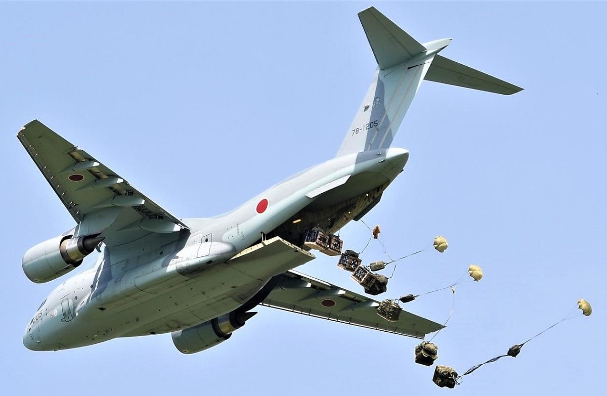 Máy bay vận tải C-2 của Không quân Nhật Bản; Nguồn: wikipedia.org