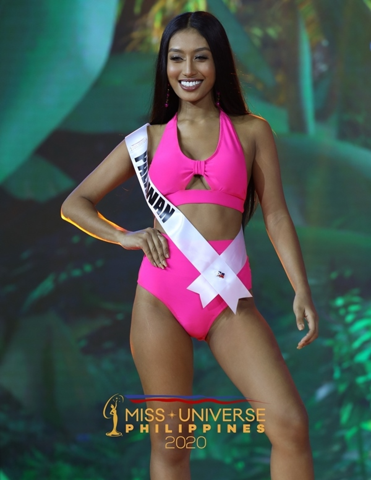 Jennifer Nuñez Linda, 18 tuổi, đại diện tỉnh Palawan.
