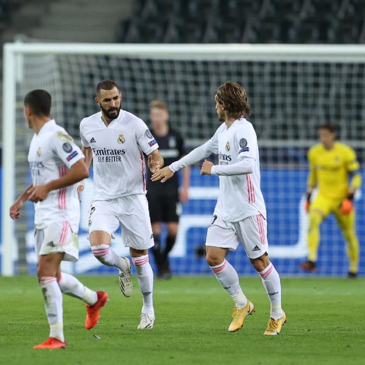 Real Madrid thi đấu không ổn định ở mấy trận đấu gần đây (Ảnh: Getty).
